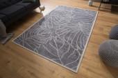 Teppich Leaves 240x165cm grau/ 38754