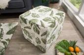 Hocker Tropical 45cm grün/ 38764
