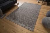 Teppich Berber 240x160cm schwarz beige/ 38757