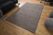 Teppich Wool 240x160cm anthrazit-braun/ 38760