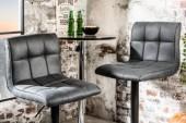 Barhocker Modena vintage grau/ 39001