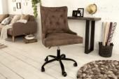 Bürostuhl Victorian Armlehne braun/ 38793