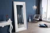 Standspiegel Renaissance 180cm weiss/ 20351