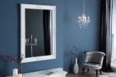 Wandspiegel Renaissance 105cm weiss/ 35739