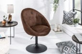 Sessel CoutureLiving antik coffee Fuß/ 39052