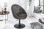 Sessel Couture antik grau Fuß/ 39053