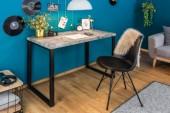 Schreibtisch ConcreteDesk 120cm Betonoptik/ 39033