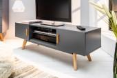 TV Lowboard Scandinavia 120cm grau/38908