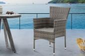 Gartenstuhl Nizza Sessel natur/ 39075