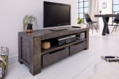 TV Board Iron Craft 130cm grau Mango/ 39281