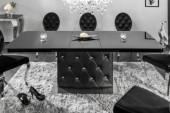 Esstisch Diamonds 160-200cm schwarz/ 39762