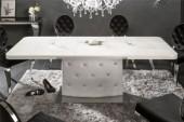 Esstisch Diamonds 160-200cm weiss/ 39763