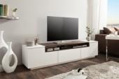 TV Lowboard Loft 180cm weiss Walnuss/ 39447