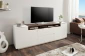 TV-Board Loft 180cm weiss Walnuss/ 39450