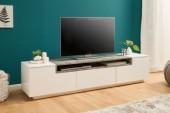 TV Lowboard Loft 180cm weiss Beton/ 39449