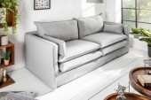 Sofa Cloud 195cm hellgrau/ 39166