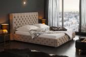 Bett Paris 180x200cm naturgrau Leinen/ 39431