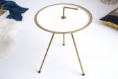Beistelltisch SimplyClever 42cm weissgold/ 39491