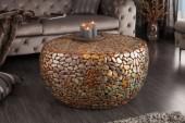 Couchtisch Stone Mosaic 82cm kupfer/ 39520