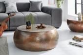 Couchtisch Orient 80cm kupfer geflammt/ 39536