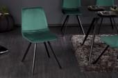 Stuhl Amsterdam smaragdgrün Samt/ 39918