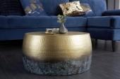 Couchtisch Orient III 60cm gold geflammt/ 39885