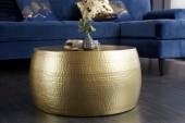 Couchtisch Orient II 60cm gold/ 39886
