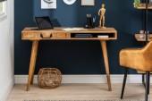 Schreibtisch Retro 120cm Mango/ 39959