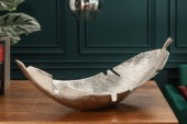 Dekoschale Silver Leaf 62cm silber / 39501