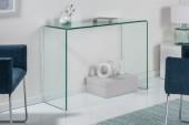 Schreibtisch Fantome 100cm Glas/ 22866