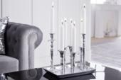 Kerzenständer 7-flammig silber/ 38067