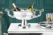 Champagner-Kühler Champagne 40cm silber/ 36380