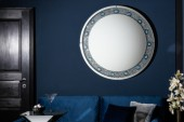 Wandspiegel Diamonds Achat 100cm rund/ 38995