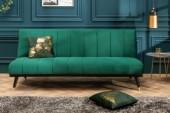 Schlafsofa Petit Beaute 180cm smaragdgrün/ 40027