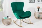 Schaukelstuhl SandinaviaSwing smaragdgrün/ 40162