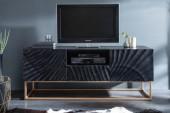 TV Lowboard Scorpion 160cm schwarz Mango/ 40253