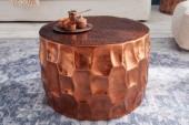 Couchtisch Organic Orient 53cm Aluminium kupfer/ 40226