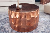 Couchtisch Organic Orient 68cm Aluminium kupfer/ 40224