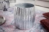 Beistelltisch Marrakesch 42cm Aluminium silber/ 40221