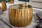 Couchtisch Marrakesch 55cm Aluminium gold/ 40220