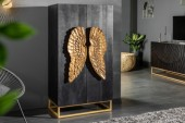 Highboard Angel 70cm Mango schwarz/ 40056