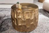 Couchtisch Organic Orient 53cm Aluminium gold/ 40227