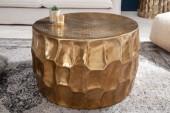 Couchtisch Organic Orient 68cm Aluminium gold/ 40225