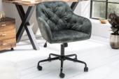 Bürostuhl Dutch Comfort grün Samt/ 40304