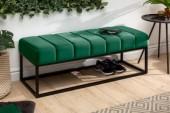Sitzbank Petit Beaute 110cm Samt smaragdgrün/ 40316