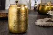 Beistelltisch Orient Storage 35cm Aluminium gold/ 40233