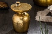 Beistelltisch Orient 36cm Aluminium gold/ 40236