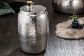 Beistelltisch Orient Storage 35cm Aluminium silber/ 40234