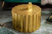 Couchtisch Liquid Line 60cm Aluminium gold/ 40228
