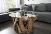 Couchtisch Nature Lounge 50cm Teak Gestell/ 39832